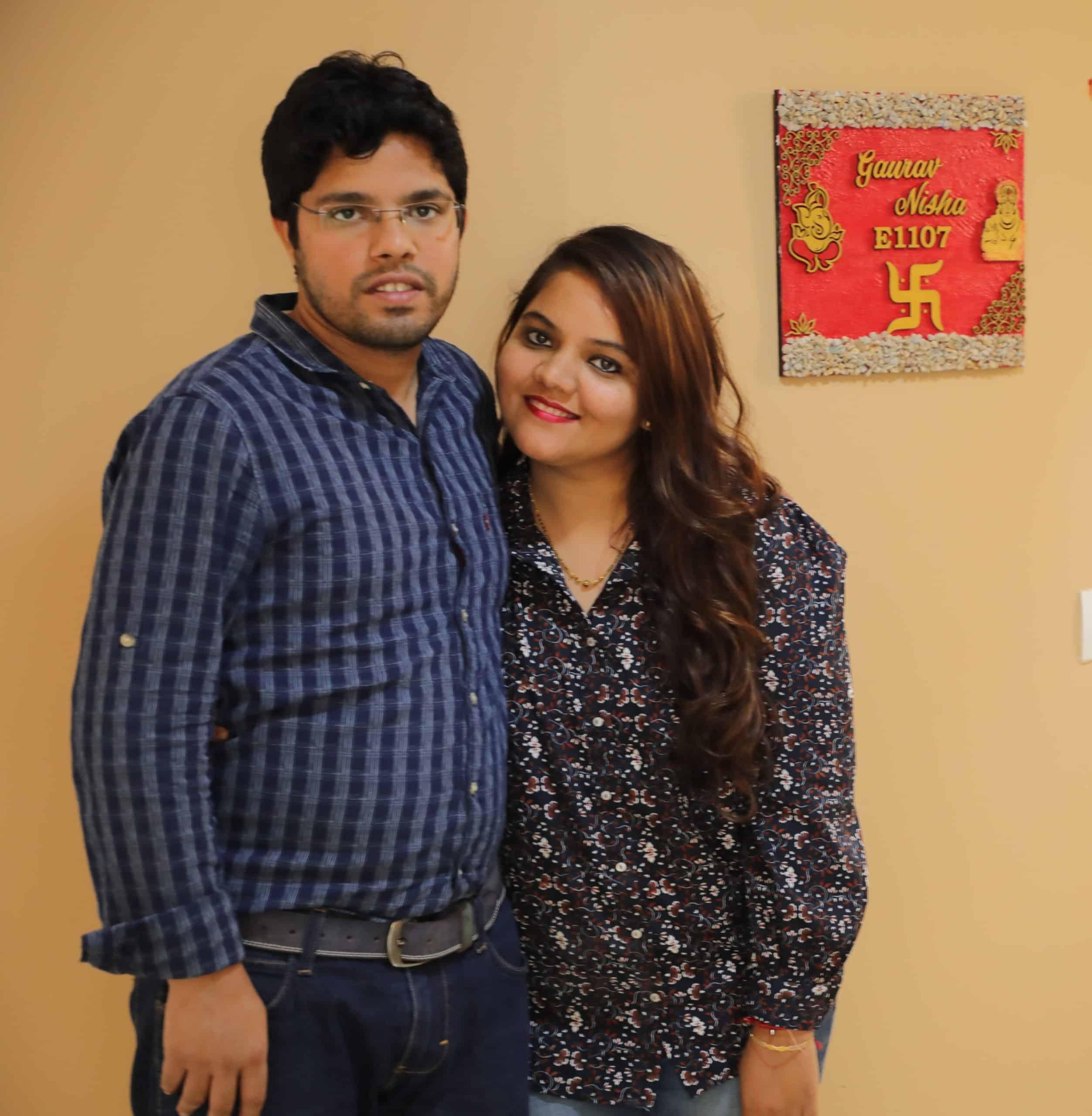 Mrs. Nisha & Mr. Gaurav